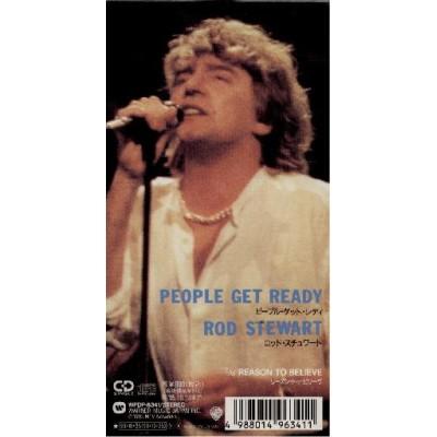 """Stewart, Rod - 3"""" CD - JAP - People Get Ready"""