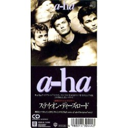 """A-ha - 3"""" CD - JAP - Stay On These Roads"""