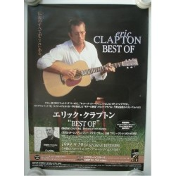 Clapton, Eric - Poster - JAP - Best Of - PROMO ONLY