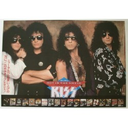 Kiss - Poster - JAP - Hot In The Shade