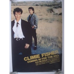 Climie Fisher - Poster - JAP - Coming In For The Kill - PROMO ONLY