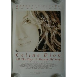 Dion, Celine - Poster - JAP - All The Way...A Decade Of Song - PROMO