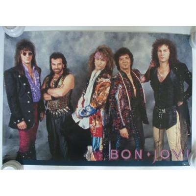 Bon Jovi - Poster - JAP - 1985 ? - PROMO - RARE