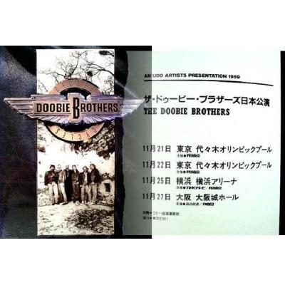 Doobie Brothers - Tourbooks - JAP - 1989 Japantour