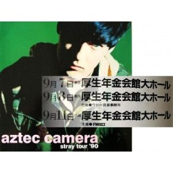 Aztec Camera - Tourbooks - JAP - 1990 Japantour