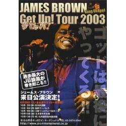 Brown, James - Flyer - JAP - 2003 Japan Tour
