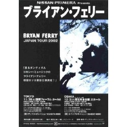 Ferry, Bryan - Flyer - JAP - Japan Tour 2002