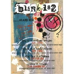 BLINK 182 - Flyer - JAP - Japan Tour 2004