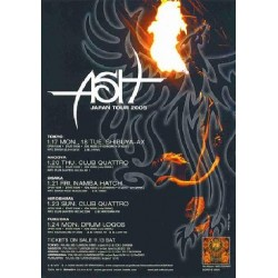 ASH - Flyer - JAP - 2005 Japan Tour