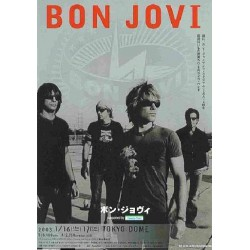 Bon Jovi - Flyer - JAP - 2003 Japan Tour