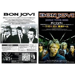Bon Jovi - Flyer - JAP - 2000 Japan Tour