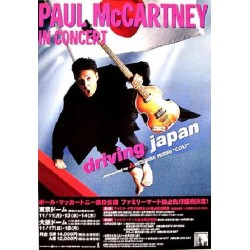 Beatles - Paul McCartney - Flyer - JAP - Japan Tour 2002