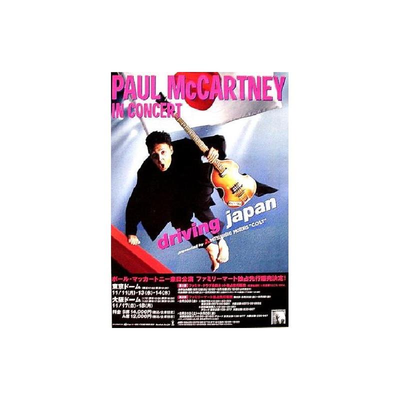Beatles - Paul McCartney - Flyer - JAP - Japan Tour 2002