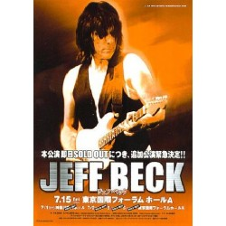 Beck, Jeff - Flyer - JAP - Japan Tour 2005