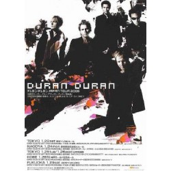 Duran Duran - Flyer - JAP - Japan Tour 2005