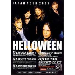 Helloween - Flyer - JAP - 2001 Japantour