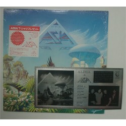 Asia - LP - JAP - Alpha + Sticker