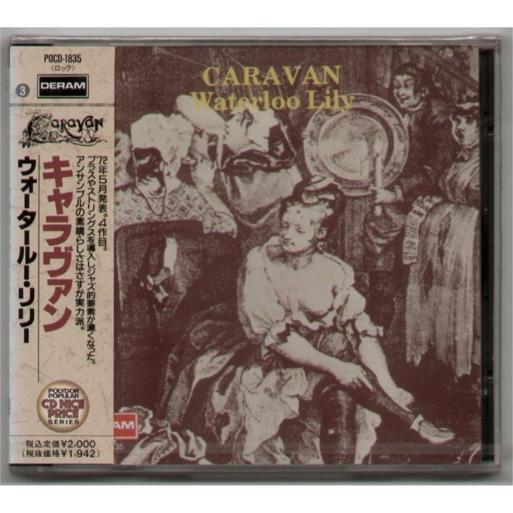 Caravan - CD - JAP - Waterloo Lily - PROMO - SEALED