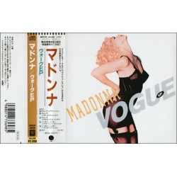Madonna - CD - JAP - Vogue - PROMO