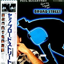 Beatles - Paul McCartney - LP - JAP - Give My Regards To Broad Street + Poster