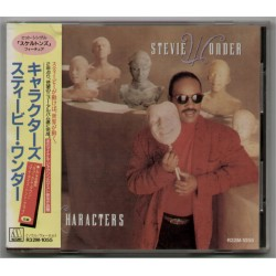 Wonder, Stevie - CD - JAP -  Characters