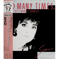 "San - 12""  JAP - Too Many Times Too Many Changes - PROMO"