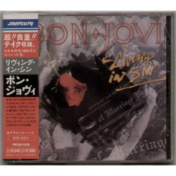 Bon Jovi - CD - JAP - Living In Sin - SEALED