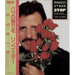 Star, Ringo - Beatles - LP - JAP - Stop And Smell The Roses - WHITE LABEL PROMO