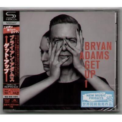 Adams, Bryan - CD - JAP - Get Up - PROMO - SEALED