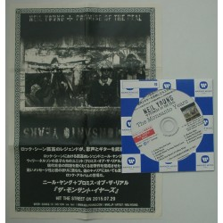 Young, Neil + Promise Of The Real - CDR - JAP + Sheet -  The Monsanto Years - PROMO ONLY