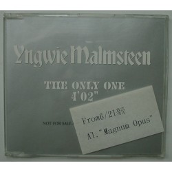 Malmsteen, Yngwie - CD - JAP -  The Only One - PROMO Only