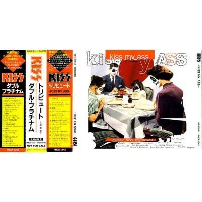 Kiss - 2 CD - JAP - Double Platinum - Kiss My Ass - PROMO Only