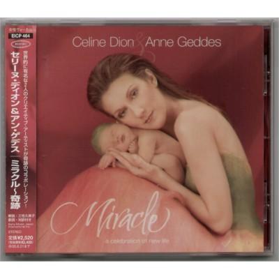Dion, Celine - CD - JAP - Miracle - SEALED - PROMO