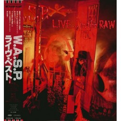 W.A.S.P. - LP - JAP - Live... In The Raw - PROMO