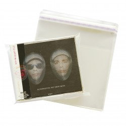 Zubehör - 50 Zubehoer - JAP - 2 CD Aussen Folie / Outside Sleeve