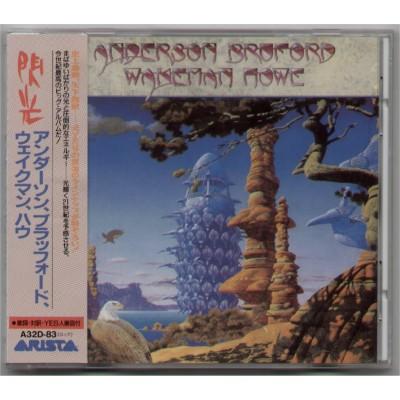 Anderson, Bruford, Wakeman, Howe - YES- CD - JAP - Anderson Bruford Wakeman Howe