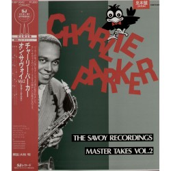 Parker, Charlie - LP - JAP -  The Savoy Recordings Master Takes Vol.2 - WHITE LABEL PROMO