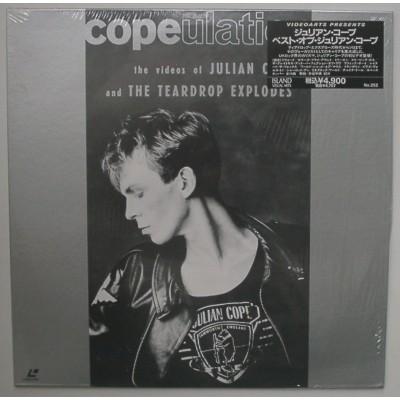 Julian Cope And The Teardrop Explodes - Laserdisc - JAP - Copeulation