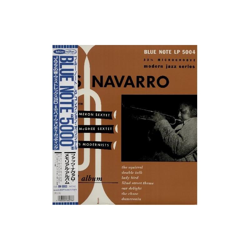 Navarro, Fats - LP - JAP - Memorial Album - BLUE NOTE