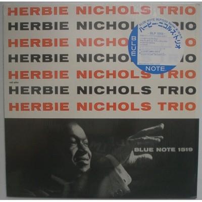 Herbie Nichols Trio  - LP - JAP -  Herbie Nichols Trio - BLUE NOTE - OBI Sticker