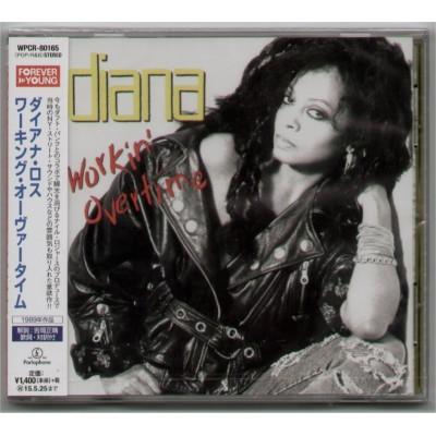 Ross, Diana - CD - JAP - Workin` Overtime - PROMO - SEALED
