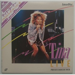 Turner, Tina - Laserdisc - JAP - Live - Private Dancer Tour
