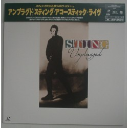 Sting - Laserdisc - JAP - Unplugged