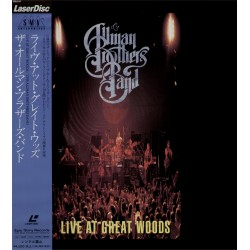 The Allman Brothers Band - Laserdisc - JAP - Live At Great Woods