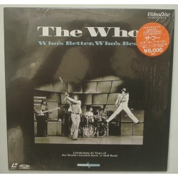 The Who - Laserdisc - JAP - Who's Better Who's Best