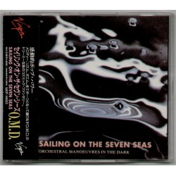 OMD - CD - JAP -  Sailing On The Seven Seas - PROMO