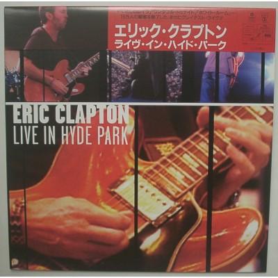 Clapton, Eric- Laserdisc - JAP - Live In Hyde Park