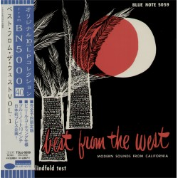 V / Artist - LP - JAP -  Best From The West Vol. 1 - BLUE NOTE