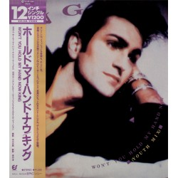 """King - 12"""" JAP - Won't you hold my hand now"""