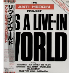 Anti Heroin Project - LP - JAP - It's A Live E-in World - WL - PROMO